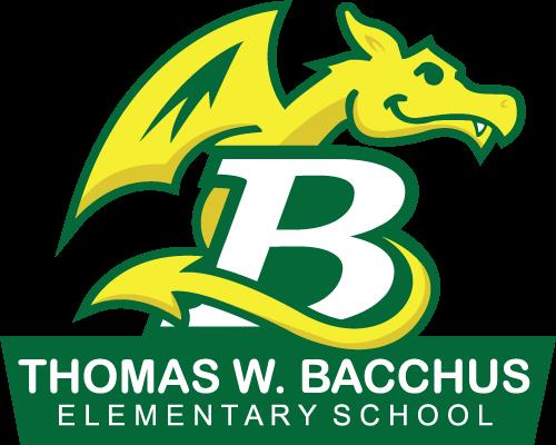 bacchus elementary school logo