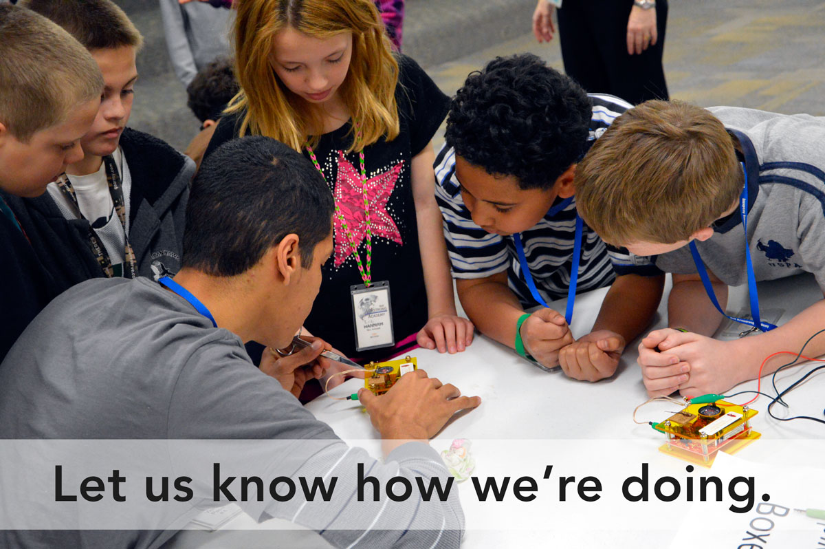 Image of Kids with Circuits