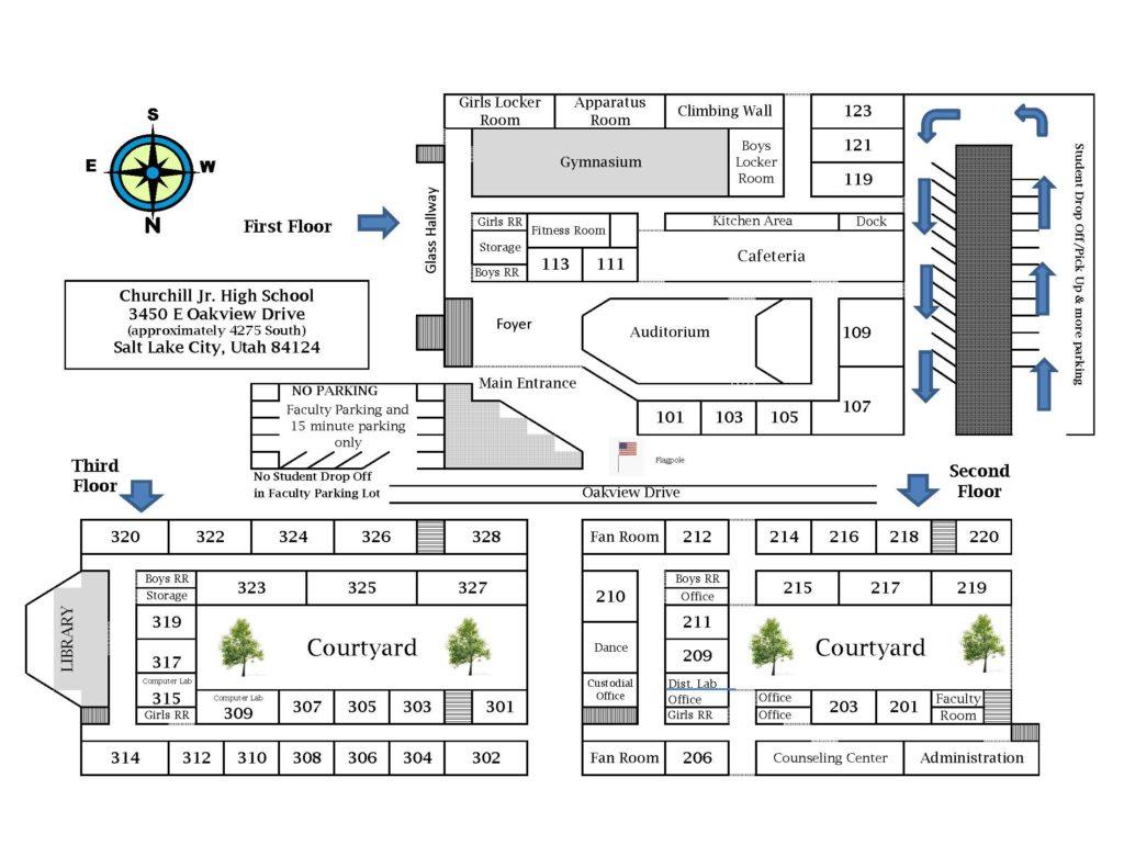 SCHOOL MAP 2016-2017