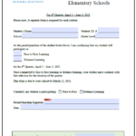 4th Quarter English Learning Options Form