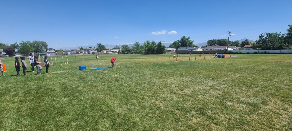 Field Day Obstacle Course