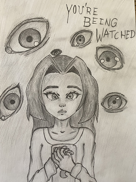Eyes and Girl