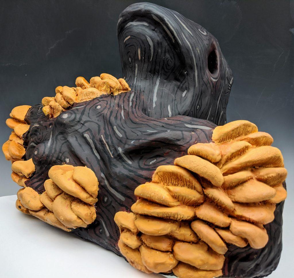 Tounge Sculpture Back