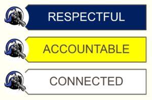 Respectful, Accountable, Connected