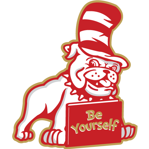 Magna Elementary School Logo. Be yourself.