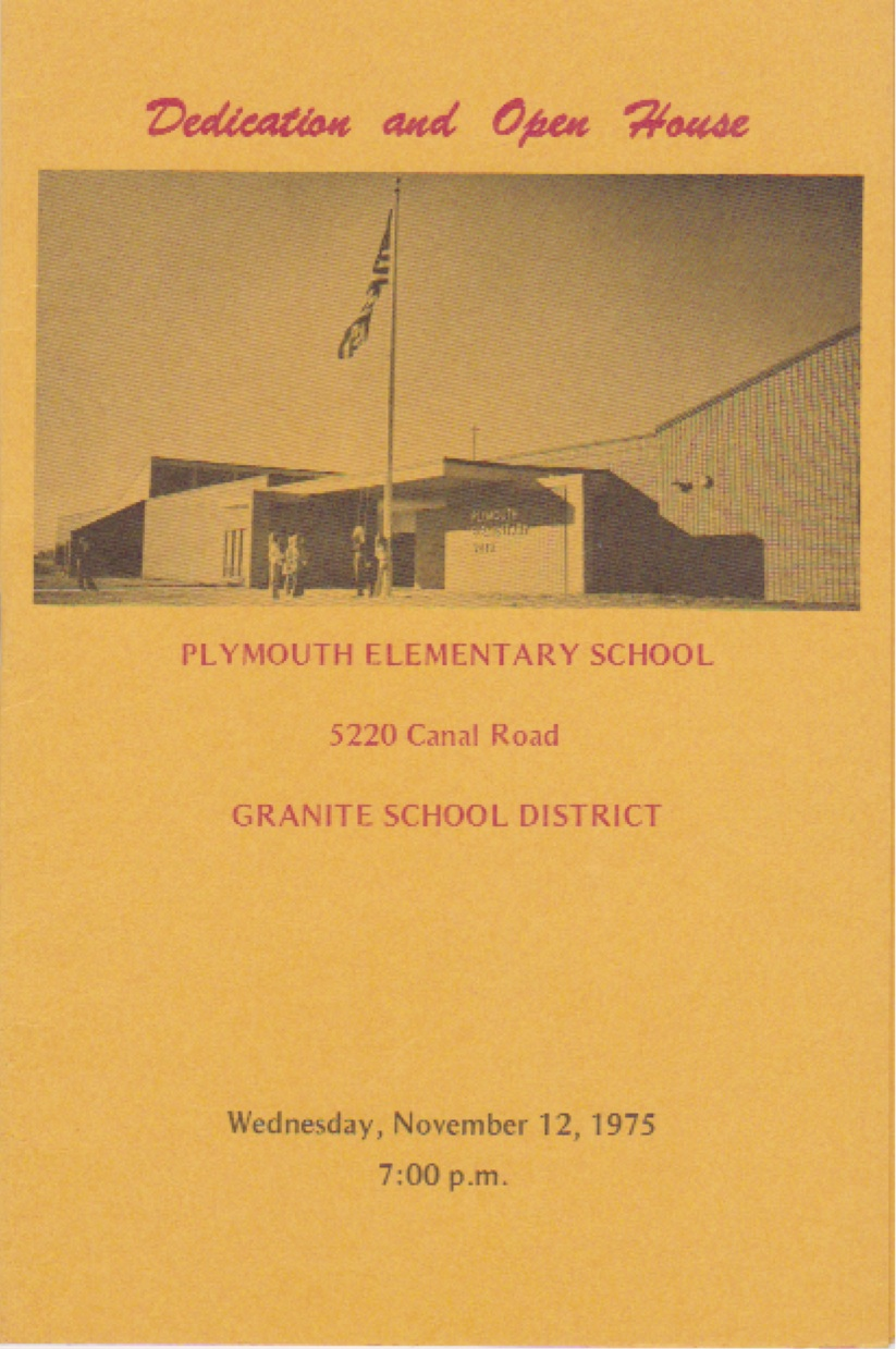 Plymouth Dedication & Open House1