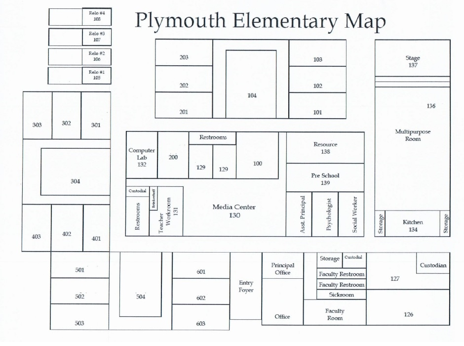 Plymouth Map Blank