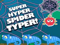 hyper spider typing