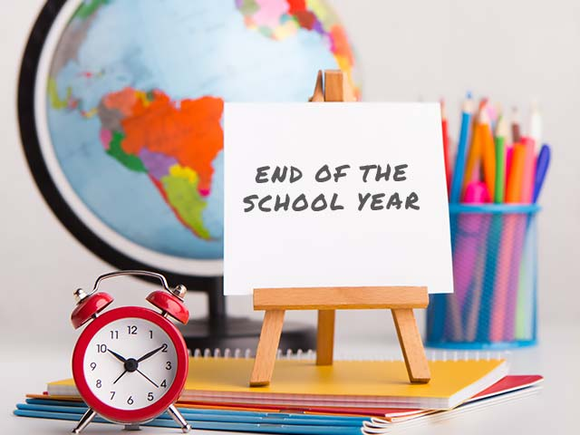End of Year Activities 2020-2021